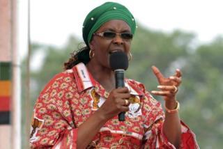 Madamu Mugabe ari muri Africa Yepfo kwivuza