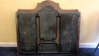 Newport Ironworks memorial