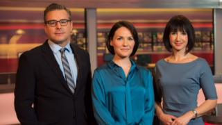Nick Servini, Jennifer Jones and Lucy Owen