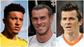 Jadon Sancho, Gareth Bale and Joey Barton