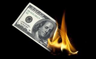 Dólar quemado.