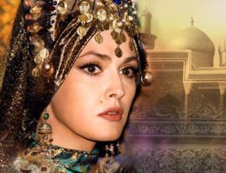 Актриса Ольга Сумская в образе Роксоланы