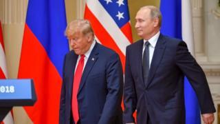 بوتين ترامب