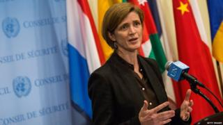 "The US ambassador said efforts to block NGO participation ""damages the credibility of the UN"""