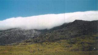Cwmwl ar hyd y Glyders, Mehefin 1994