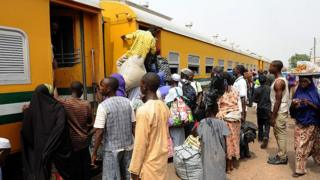 Eid-el-kabir: Osun state dey give free train ride for Sallah jolly jolly