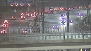 M8 after crash near Fort Shopping Centre