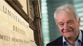 Bristol university's new chancellor Sir Paul Nurse