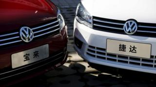 Volkswagens in China