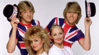 Bucks Fizz representing the UK in Eurovision