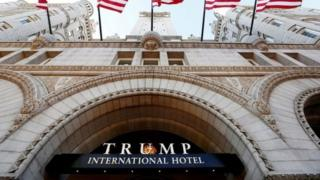 Maryland na Washington DC zareze Trump