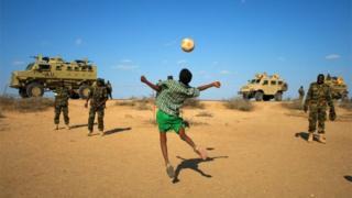 Uganda kiri mu bihugu bitanga abasikare benshi muri Somalia