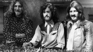 Led Zeppelin in 1970
