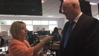 Marie-Louise Connolly interviewed Brian McNeill, director of operations with the Northern Ireland Ambulance Service (NIAS) on 30 November