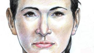 Forenzički crtež Žene iz Isdala