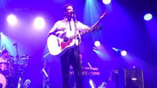 Frank Turner at the Cambridge Folk Festival