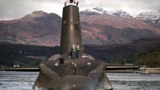 Vanguard nuclear submarine