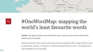 The OneWorldMap website