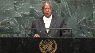 Prezida Museveni ngo yarungikiye ikete umunyamabanga mukuru wa Onu Antonio Guterres