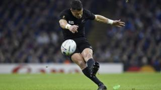 Dan Carter's penalty kick