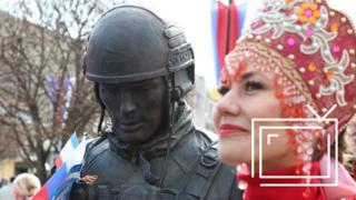 """Памятник """"вежливым людям"""""""