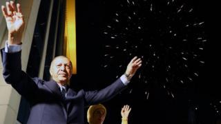 Cumhurbaşkanı Erdoğan balkon konuşması