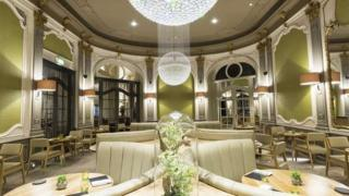 Interior of The French by Simon Rogan