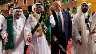 ABD Başkanı Trump ve Suudi Arabistan Kralı
