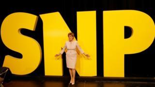 Nicola Sturgeon at SNP conference