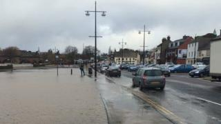 Whitesands flooding