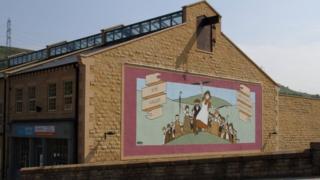 A mural by Pate McKee
