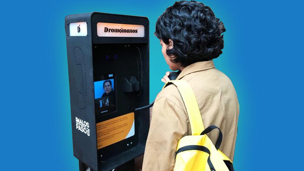 Cabinas interactivas de Dromómanos