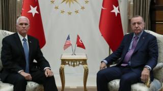 Pence ve Erdoğan