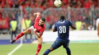 يلتقي الفريقان في مباراة الإياب بتونس الجمعة المقبلة