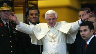 Papa 16. Benedetto 2006 yılında Türkiye'ye 4 günlük bir ziyaret gerçekleştirmişti.