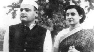 इंदिरा और फ़िरोज़ गांधी