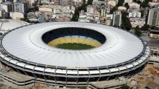 Maracana (Mario Filho) Stadium in Rio de Janeiro, Brazil, 2016.