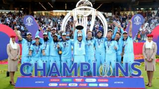 క్రికెట్ ప్రపంచ కప్ విజేత ఇంగ్లండ్