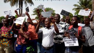 Une marche des enseignants maliens - mars 2019