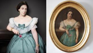 Great-great-great-aunt Dona Benjamina Elespuru y Martinez de Pinillos