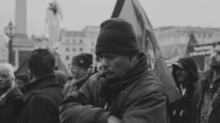 Protester Trafalgar Square