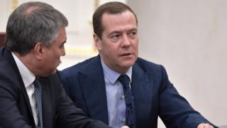 Дмитрий Медведев и Вячеслав Володин