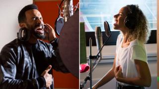 Craig David and Leona Lewis