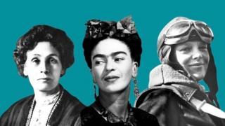 """Участницы списка """"100 женщин, изменивших мир"""""""