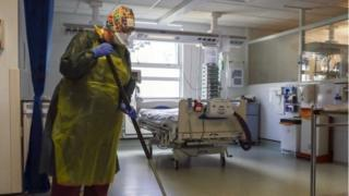 cleaner in hospital