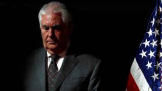 Mr Tillerson lasted in the job for just over a year