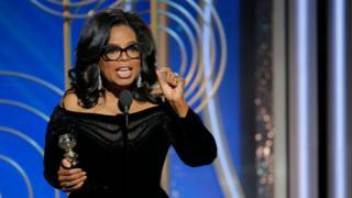 """Oprah Winfrey a résumé l'état d'esprit par cette phrase """"un jour nouveau à l'horizon"""""""