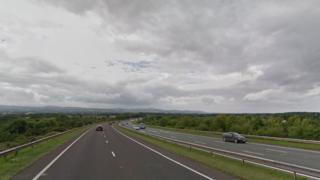 A55 Rhaullt Hill junction 30