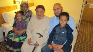 The Rasoul family (left to right): Zahra, Munira, Ahmed, Mohammed and Mohammed Junior