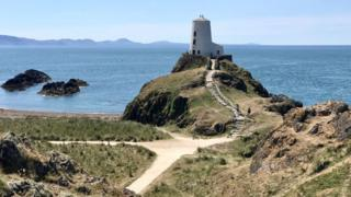 Janet Jenkins snapped this picture at Llanddwyn Island, Anglesey